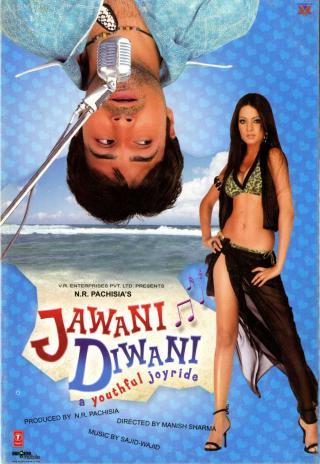 Poster Jawani Diwani: A Youthful Joyride