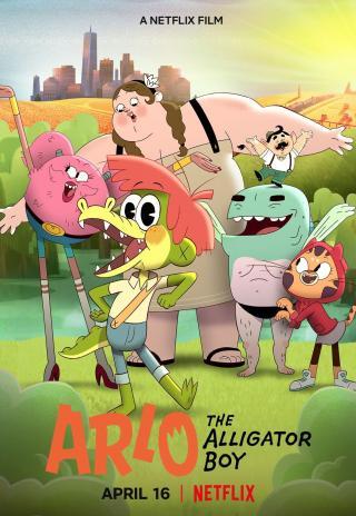Poster Arlo the Alligator Boy