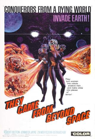Poster They Came from Beyond Space
