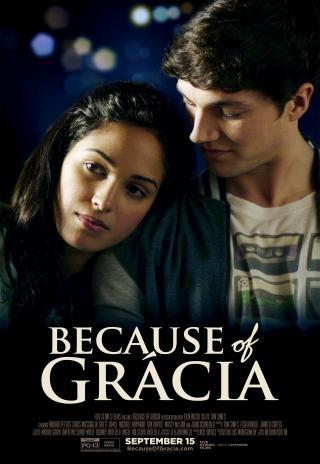 Poster Because of Grácia