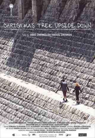 Poster Christmas Tree Upside Down