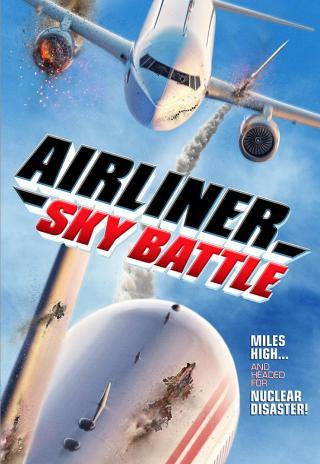 Poster Airliner Sky Battle